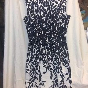 Black and White Blumarine Dress